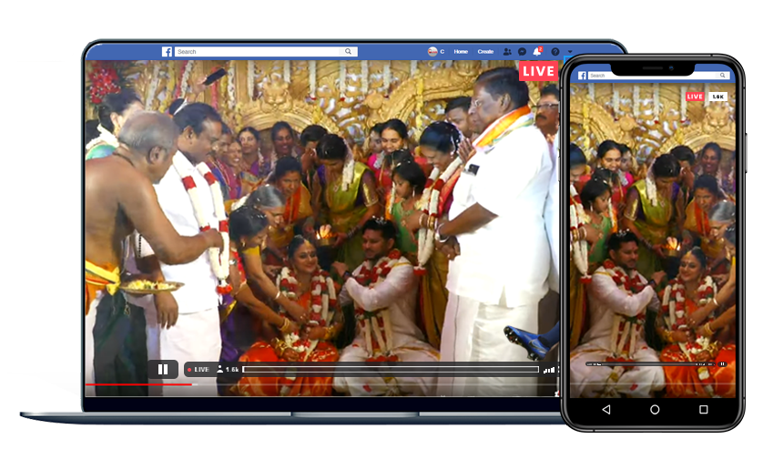 Clive Live Streaming Company In Chennai Webcasting Services India